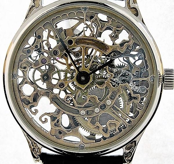 часы скелетон 2