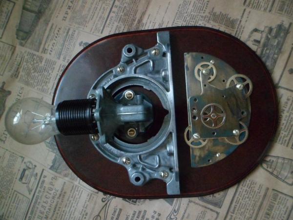 светильник steampunk индастриал