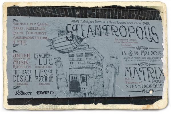 Отчёт о стимпанк выставке-продаже в Бохуме ( Германия) в картинках