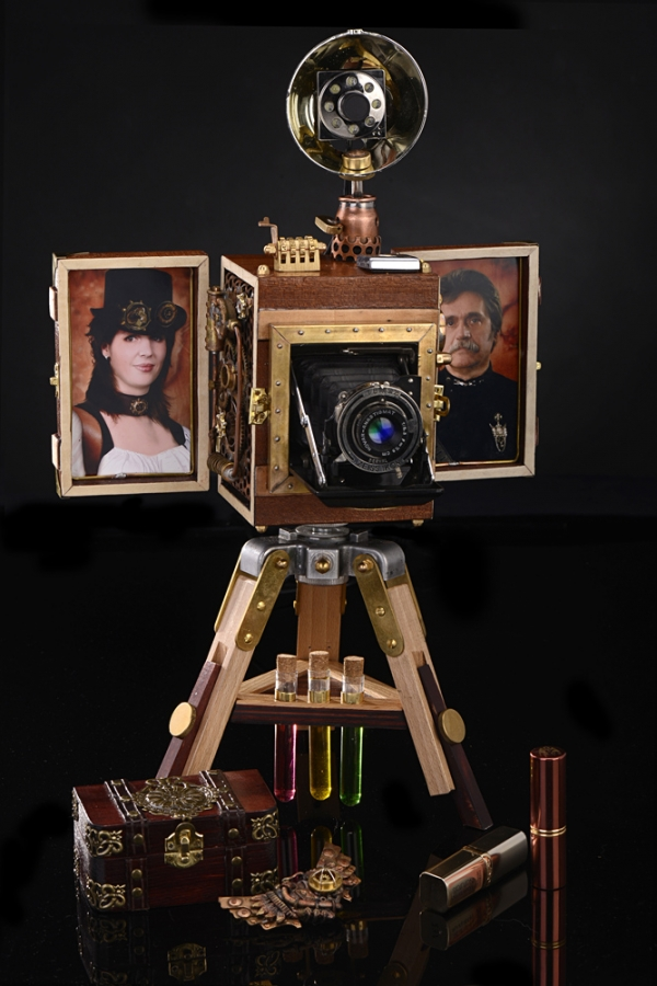 Ретрокамера для Steampunk-Lady. Презентация