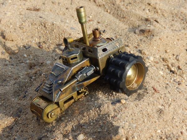Фрегат пустынного эскадрона Beschützer