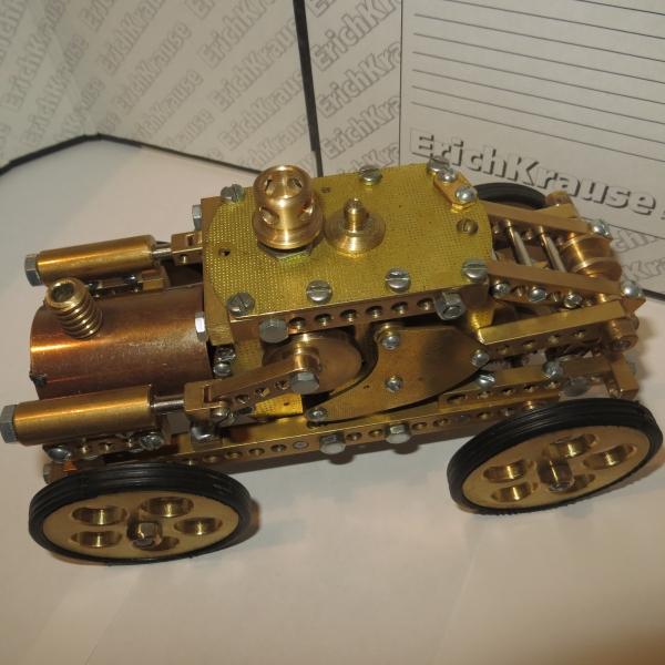 Заводная  игрушка.Механический трактор  Монстр.