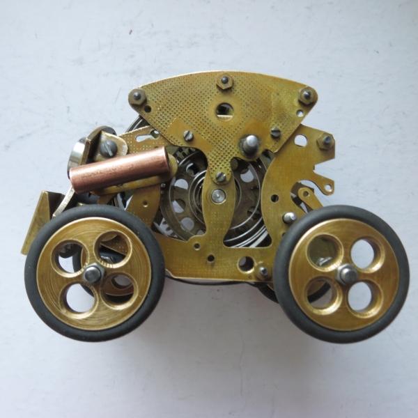 Паро- механический разведчик Вихрь.(скелетон)