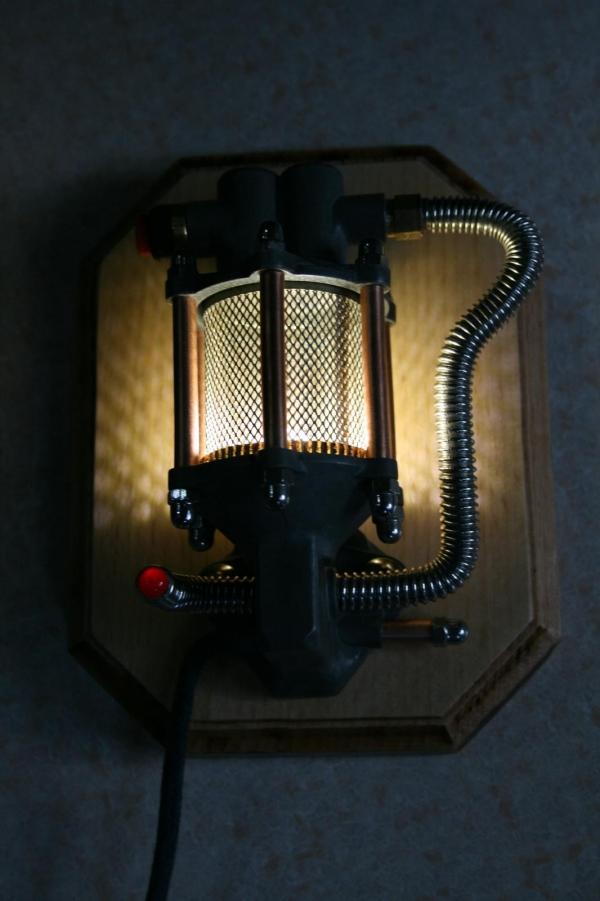 Дизельпанк светильник 2