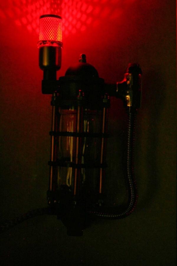 Дизельпанк светильник терминатор 2.