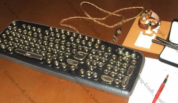 Создание латунных клавиш  для клавиатуры.