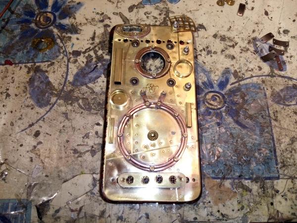 Стимпанк чехол iPhone 6 Plus