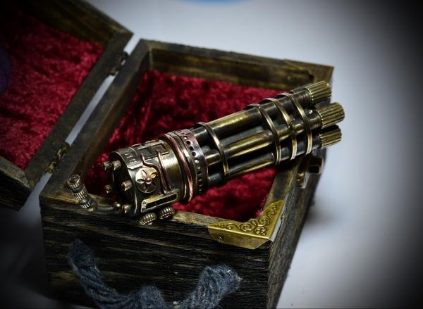 Зажигалка Пулемёт Гатлинга