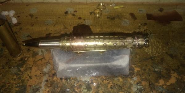 Шариковая ручка в стимпанк стиле Иерусалим.