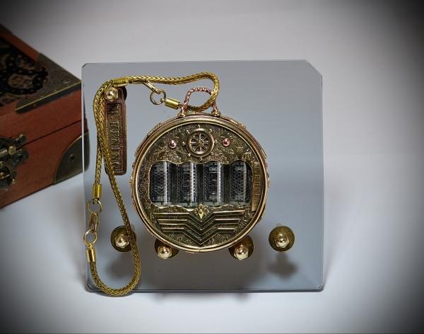 Nixie tube watch, Pocket watch Commodore