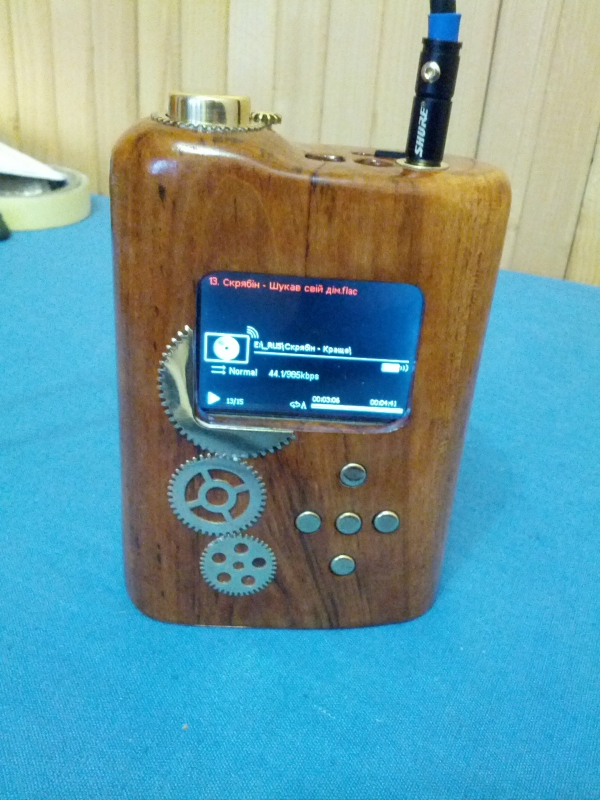 Ihifi 812 (стимпанк мод) HI-FI player
