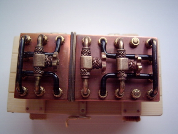 Паровой распределительный коллектор на 32 ГБ.