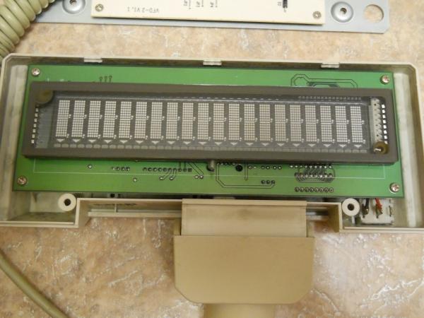 Продам VFD дисплей от кассового аппарата