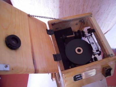 Действующая модель кинетоскопа Т.Эдисона. В свободном доступе.