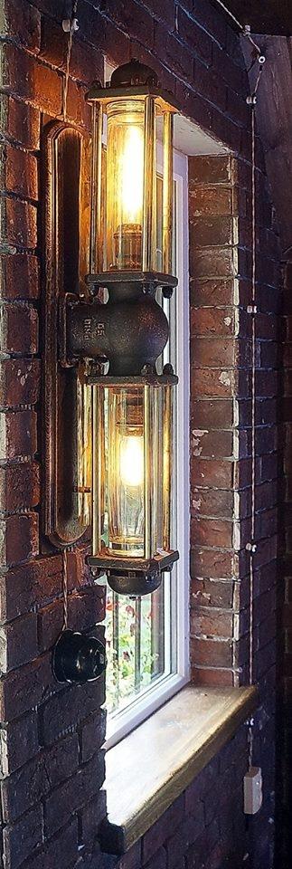 светильник №1 от творческой мастерской д. Фёдор