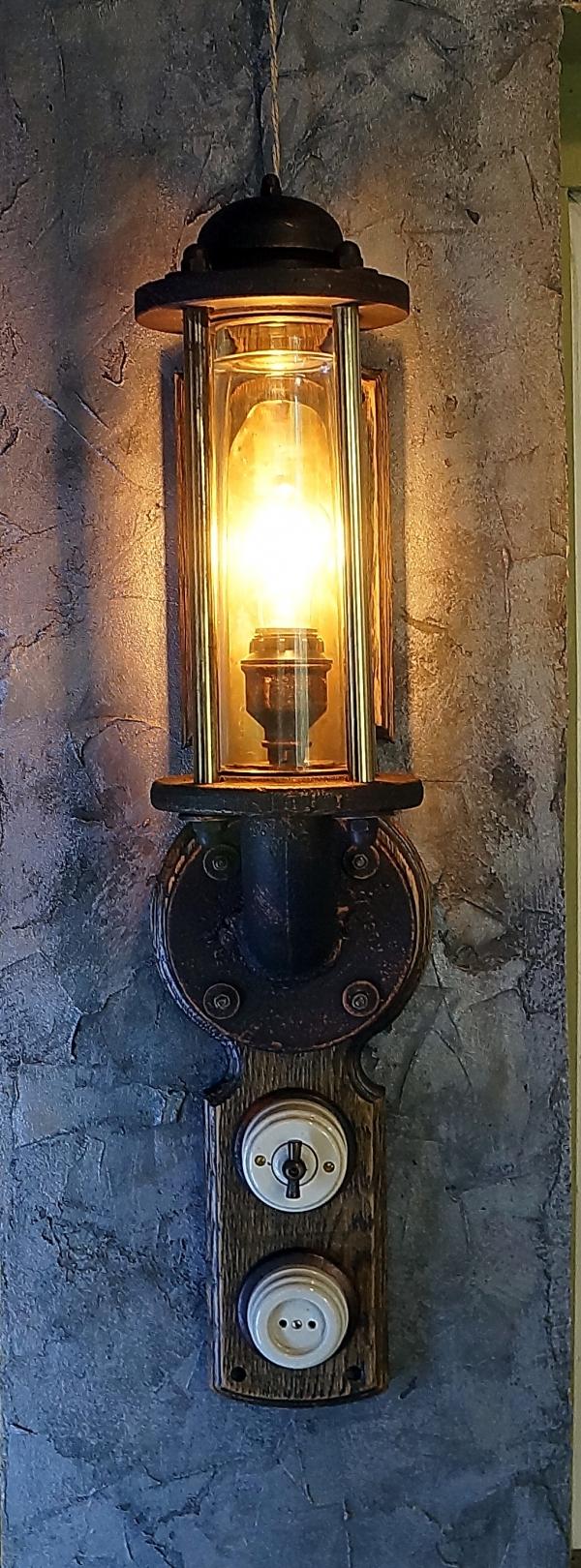 светильник №2 от творческой мастерской д. Фёдор