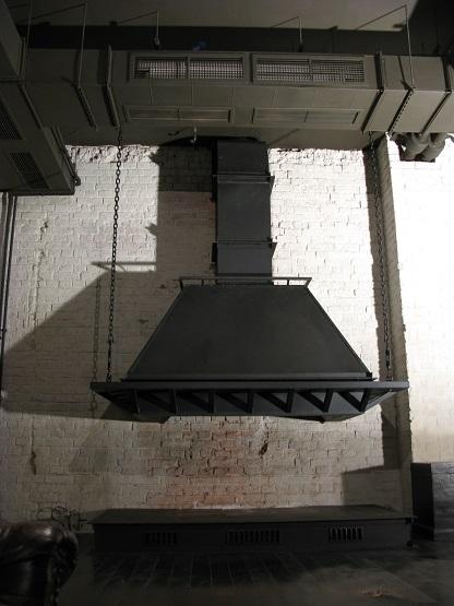 камин для 2 эт . лофтового ресторана на Б.Пироговской от творческой мастерской д.Фёдор