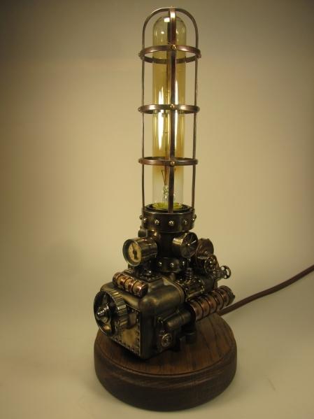Однокамерный паровой светильник