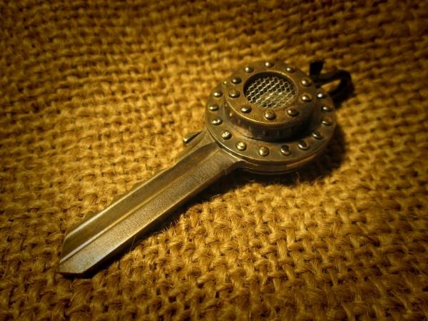 Ключи от мастерской, где инструменты лежат)