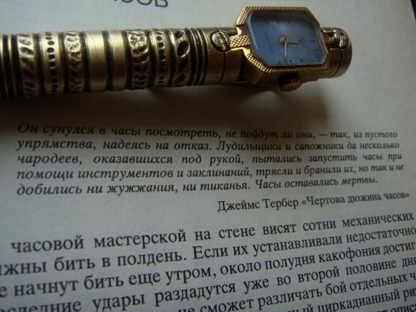 Ручка исследовательницы времени