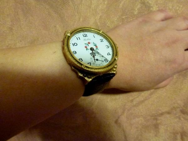 Дамские часы Бронзовая тройка