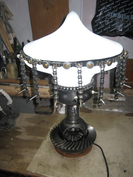 Настольная лампа  Колючий гриб .....