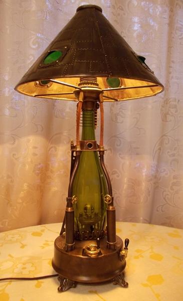 Лампа стимпанк + ночник