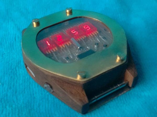 Часы на Советских индикаторах