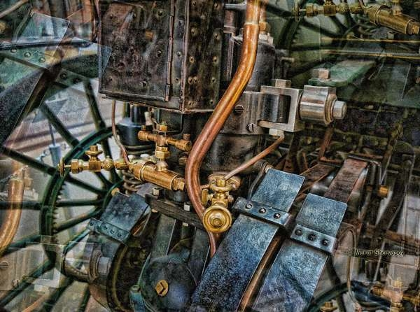 стимпанк steampunk индустрия промышленность энергетика marshfoto марат шаряпов турбины манометр Техника Механика Конструкция Механизм Прибор детали машин агрегат Модель технологии инструменты станки медные трубы  Mechanics Engineering Machine Mechanism Technique Mechanical
