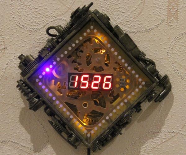 Первая модель - режим часов