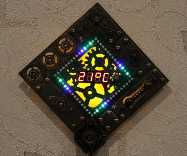 Вторая модель - режим термометра