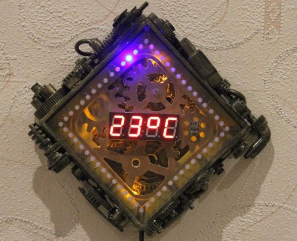 Первая модель - режим термометра