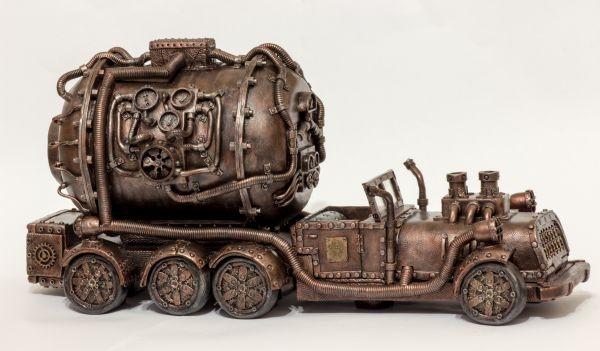 Steam-копилка на колесах