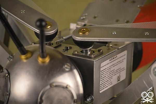 КОМАР - компактный особый модифицированный автономный робот.