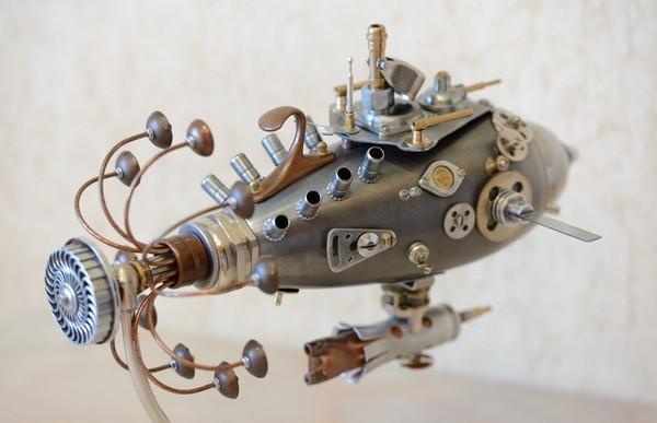 Подводная лодка Кальмар...