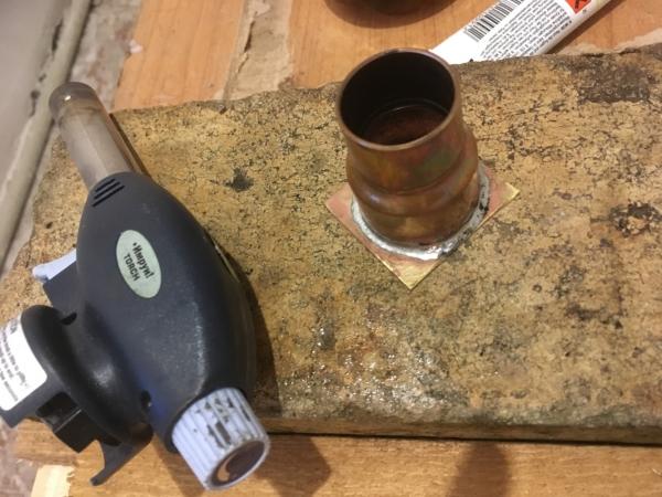 Заваривание, после отрезание лишних граней и доводка на шлейф-машинке