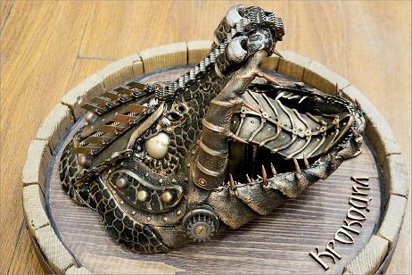 новая работа Обской крокодил