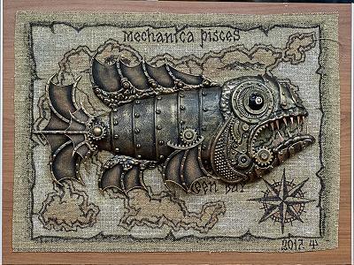 рыба на карте
