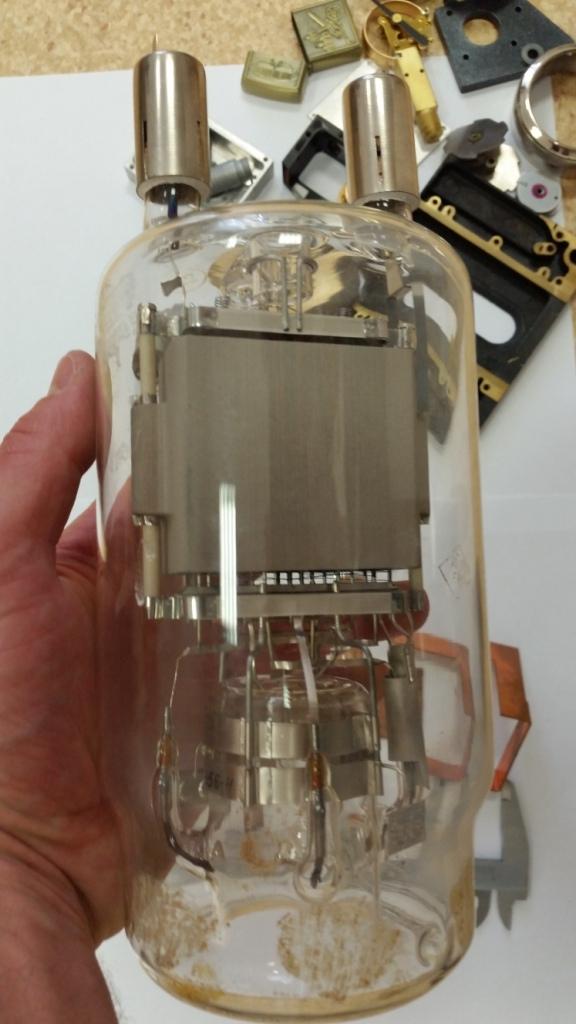 остатки от крутой лампы ГУ-80