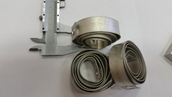 медь с покрытием (серебро?)