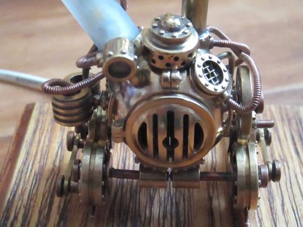 Паровой генератор на рельсах. Работа не первая, но первая публичная