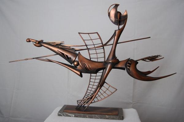 Медная скульптура Вячеслава Дидковского