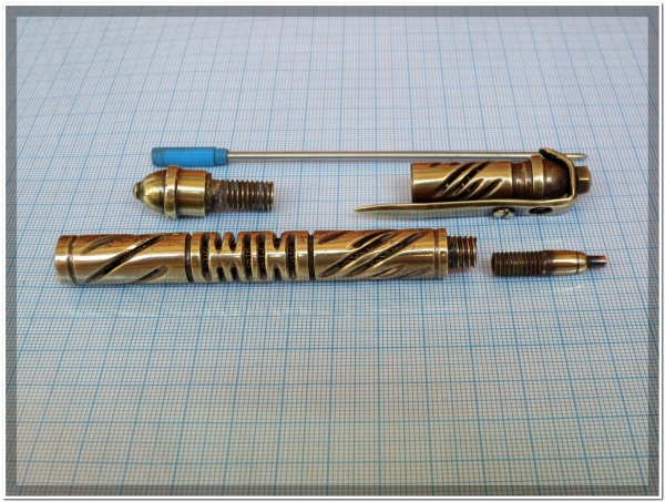Ручка латунь - 77 грамм