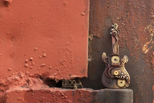 Гитары в стилистике стимпанк