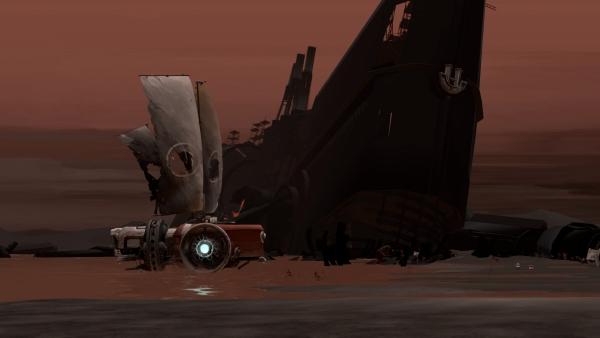 FAR: Lone Sails-игра в стиле постапокалипсис с элементами стимпанка