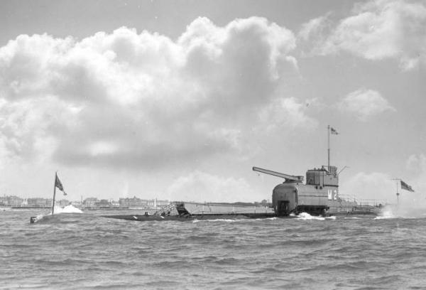 Подводные мониторы, Слоны британского флота