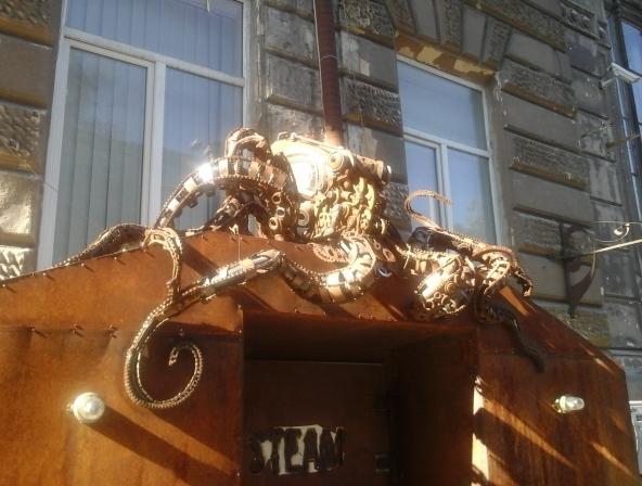 Стимпанк в городе Одесса