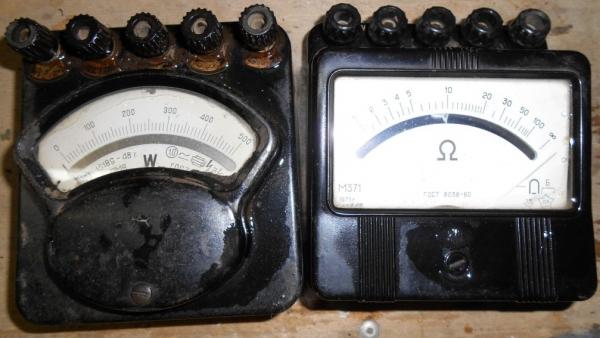 Старые приборы- заготовки для интересных самоделок
