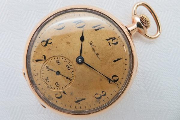Карманные часы Hamilton 1916 года