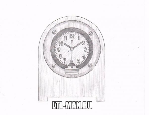 Проект. Танковые часы в деревянном корпусе.